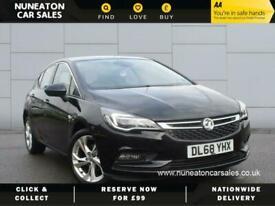 image for 2018 Vauxhall Astra SRI NAV ECOTEC SS Hatchback Petrol Manual