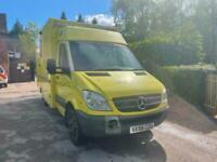 2008 Mercedes Sprinter Box Van Ambulance, Auto
