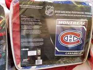 Brand new Montreal Canadiens Mink Blanket