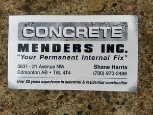 Concrete Foundation Crack Repair -  20 years experience