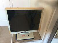 Flat Screen Monitor.