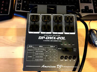 DP-DMX20L 4 CANAUX DIMMER PACK