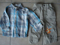Boys 12 Month Disney Outfit