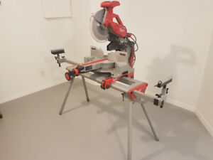 "Milwaukee 12"" Compound Mitre Saw with Stand"