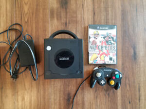 Gamecube with controller and game