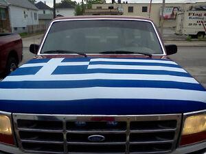 Car Hood Flags by Flag Depot