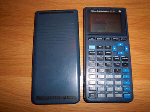 TEXAS INSTRUMENTS TI-81 Graphing Graphic Calculator Tested Worki