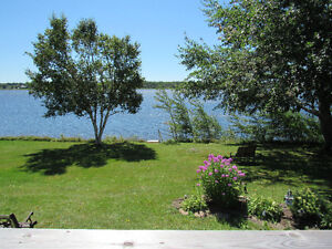Cottage for sale (double lot waterfront property) Cocagne-Nord