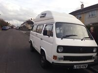 VW T25 campervan. Offers considered