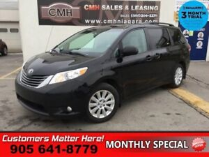 2014 Toyota Sienna XLE  AWD LEATH ROOF DVD BS PWR-SLIDERS/GATE Q