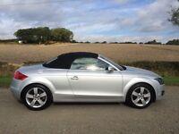 Audi TT 2.0 TFSI Convertible. Low Miles. Years Mot. FSH. Pristine.