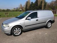 VAUXHALL ASTRA VAN SPORTIVE ONLY 57,000 GENUINE MILES IN SILVER WITH AIR CON
