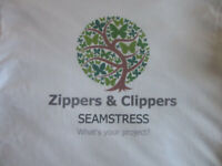 ZIPPERS AND CLIPPERS-SEWING SERVICES, SEAMSTRESS