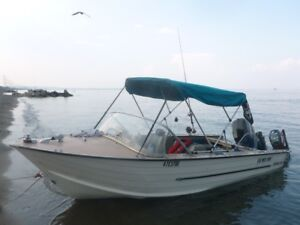 16 foot StarCraft aluminum boat 70 hp mercury and trailer