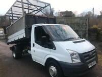 Ford Transit 2.4TDCi TIPPER with Cage