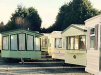Selection of static caravans for sale