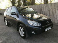 2007 07 Toyota RAV4 2.2 D-4D 134bhp XT-R 6 speed manual 4x4 50.4 mpg px