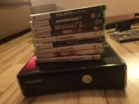 Xbox360 slim kinect and a lot more!!!