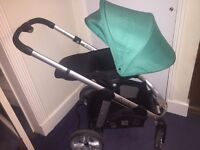 I Candy Pear push chair, with a brand new carry cot never been used, pram 6 months old