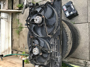 Rad fans and condenser from 2003 Jetta 2.0
