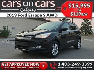 2013 Ford Escape S AWD w/Ecoboost, Leather $119 B/W INSTANT APPR