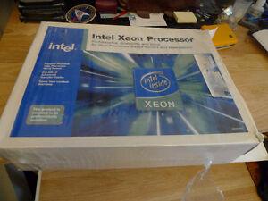 Intel Xeon 2Ghz Processors (2 CPUs + Heatsink and Fan)