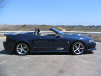 WANTED 18 Saleen chrome rims wheels tires for 2002 mustang gt
