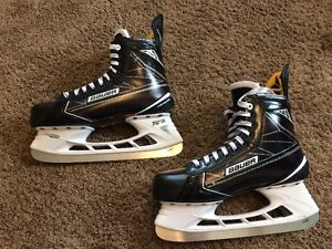 Mens Bauer S190 Senior Hockey Skates 9D Like New!!! W/Superfeet!