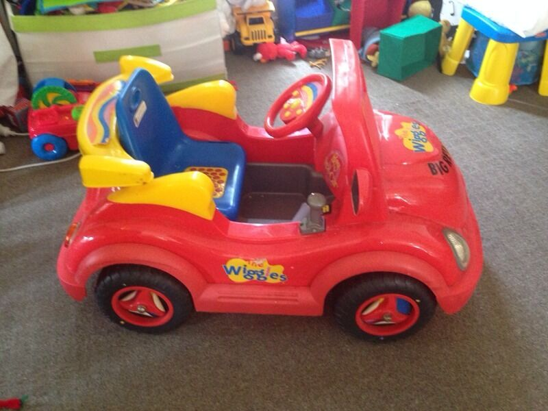 Battery Powered Electric Ride On Wiggles Big Red Car