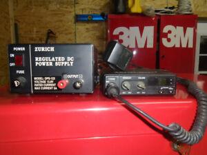 Radio CB MIDLAND 40 canaux avec transformateur de courant 120 v