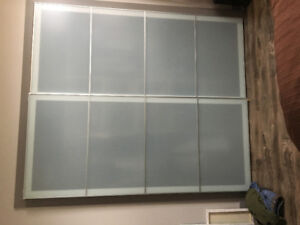 IKEA Interior Sliding Glass Doors
