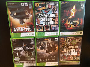 Xbox 360 with head set 8 games and 3 controllers Stratford Kitchener Area image 5