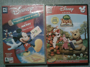 (French) Disney Learning  Games