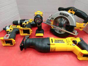Emsemble 5 outils dewalt 20v