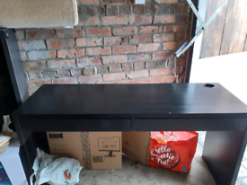 Black desk for sale