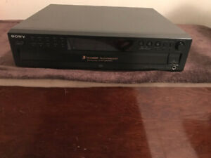 Sony CDP-CE375 5 Disc CD Player
