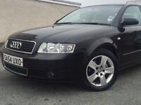 REDUCED!! £1995.00*2004 AUDI A4 TDi SE SALOON 1.9 DIESEL BLACK & BHP 130 & FULL SERVICE HISTORY