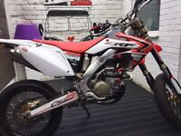 Crf 250x supermoto 04 day/night mot mint lots of extras Leigh