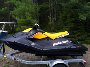 2018 Seadoo Spark  2-up and trailer, like new/ very low hours