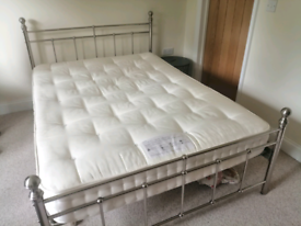 Double bedstead and mattress