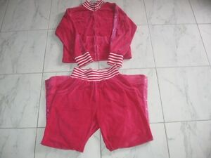 Adorable girl's track suit - size 14