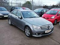 2009 09 MERCEDES-BENZ C CLASS 2.1 C220 CDI BLUEEFFICIENCY SPORT 4DR DIESEL