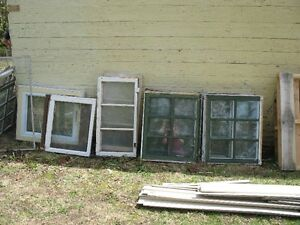 wooden window frames for crafting