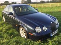 Jaguar S-Type 2.7 V6 Diesel Sport In Indigo Blue Metallic With Barley Leather