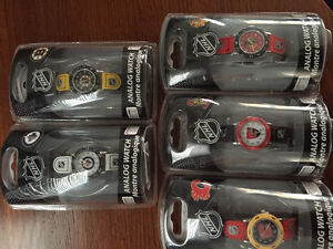 New! Assorted NHL youth watches