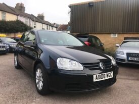 Black Voltwagen Golf for sale in Hove (in excellent condition)