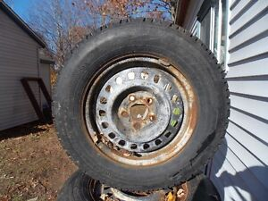 2 13 inch tires and rims