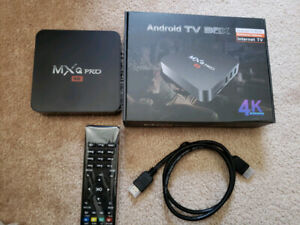 ANDROID TV BOX NO MONTHLY Cost Watch FREE live TV/HD movies