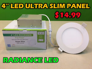 LED SLIM PANEL IC RATED 12W - $14.99 ***CHRISTMAS SALE ON NOW***