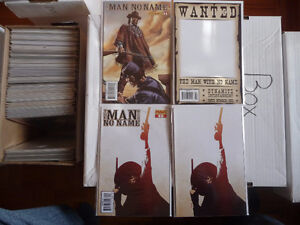 The Man With No Name # 1 different covers